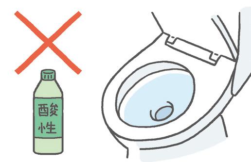 樹脂部分には強い洗剤の使用はやめましょう