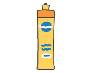 照明カバーの気になる汚れは中性洗剤で洗う